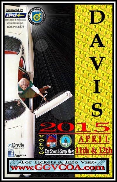 2015 Davis Meet Weekend Poster