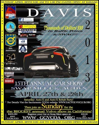 2013 Davis Show Poster